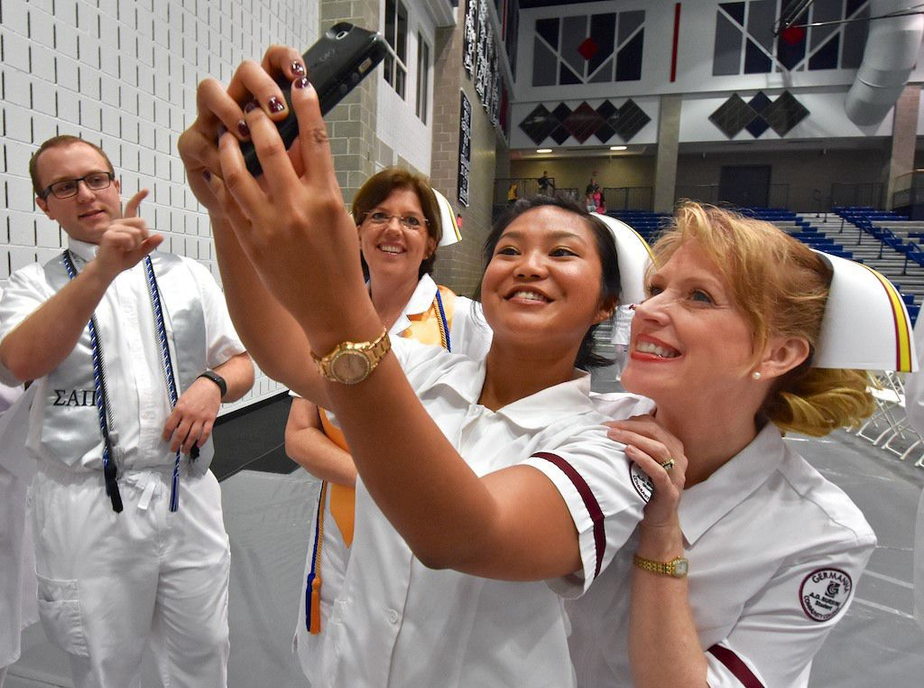 Germanna nursing students