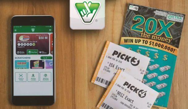 PHOTO: Lottery app