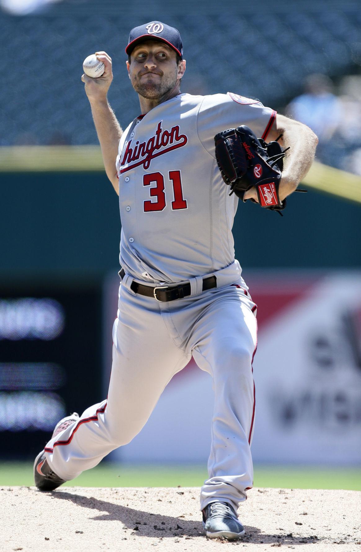 Nationals Tigers Baseball