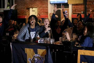 UVa Women's Basketball at Wild Wing Cafe
