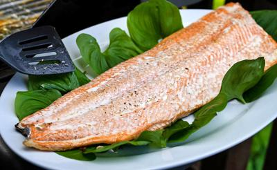 Grilled salmon 1