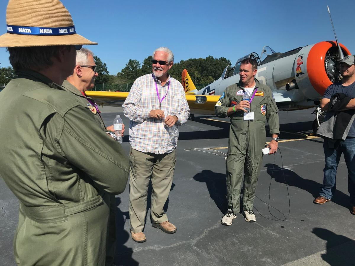 PIlots debriefed after Arsenal of Democracy practice