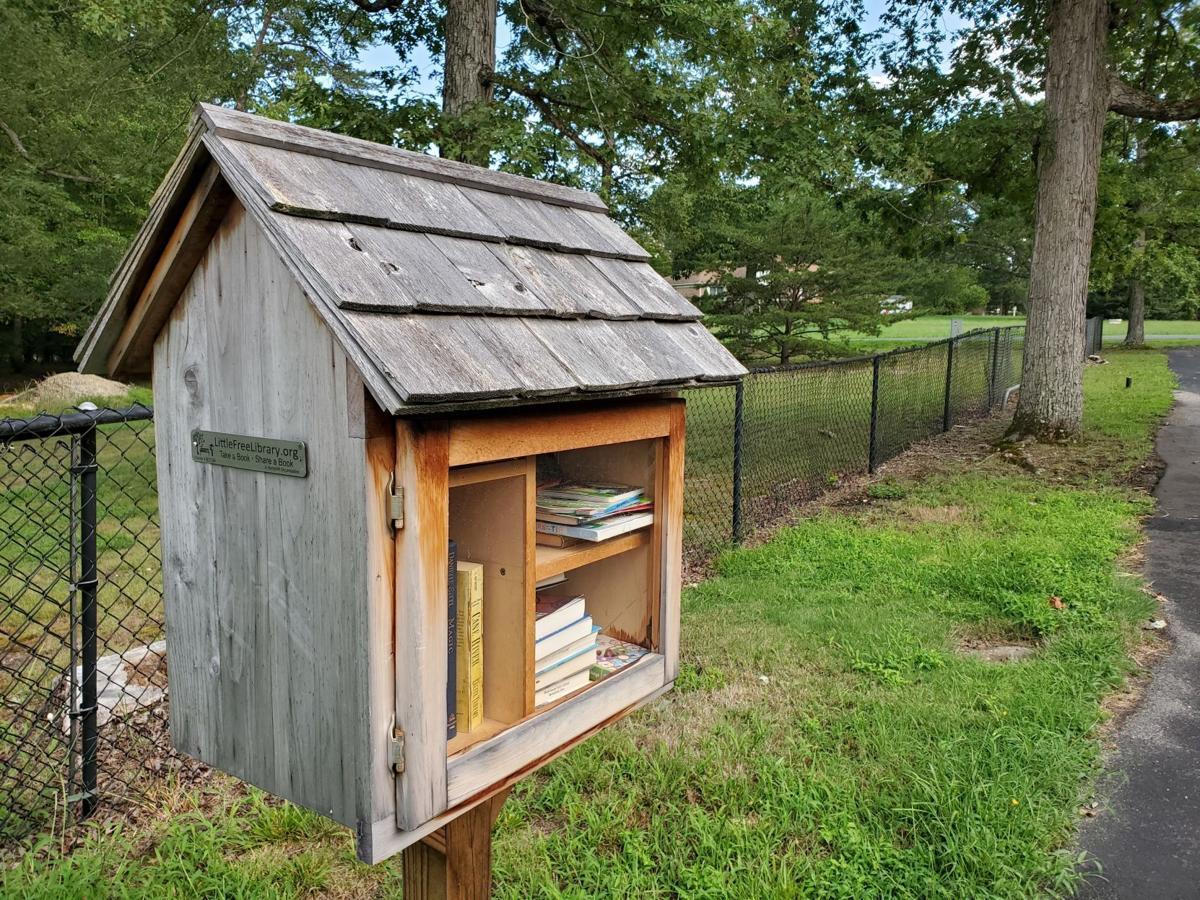Little free library Eleys Ford Baptist Church