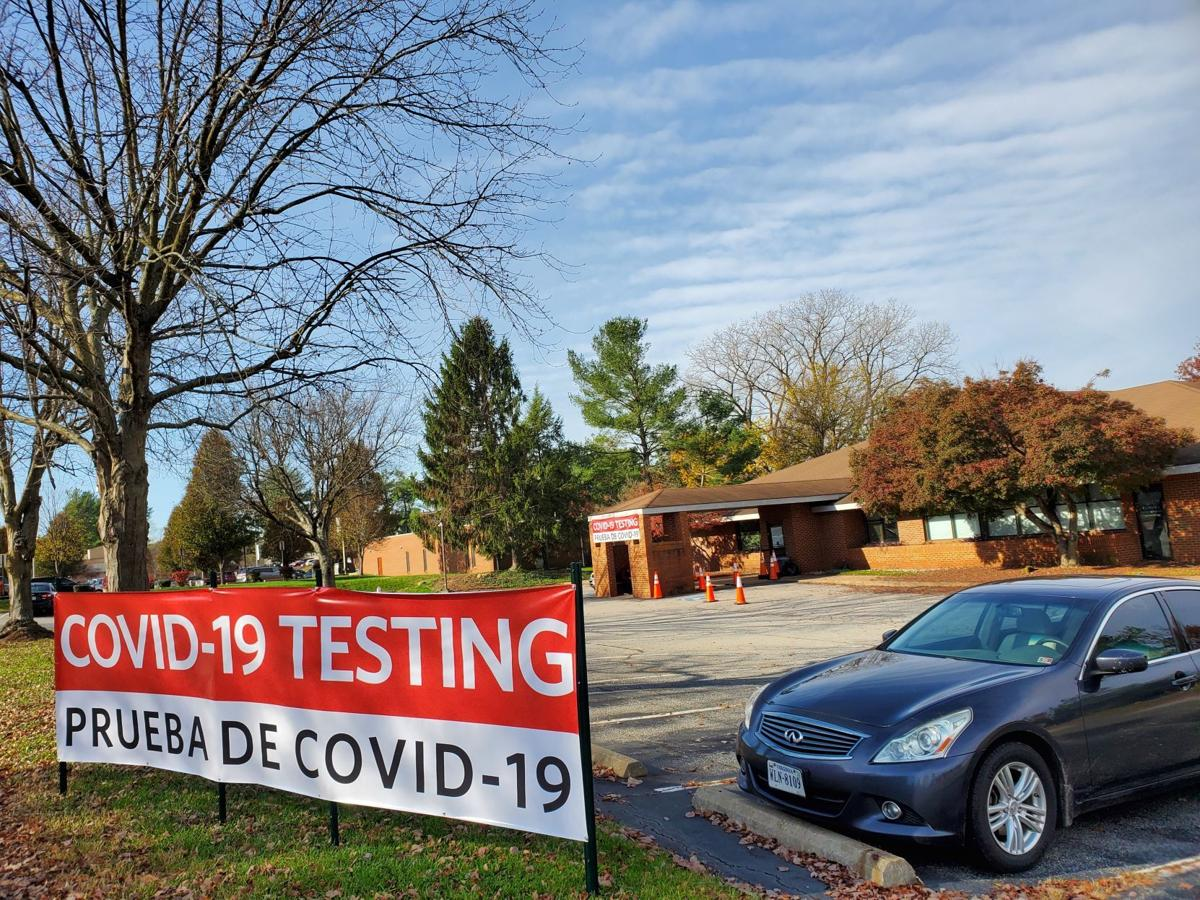COVID testing at Culpeper Hospital
