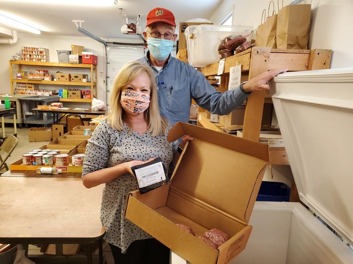 PEC donation to Culpeper Food Closet