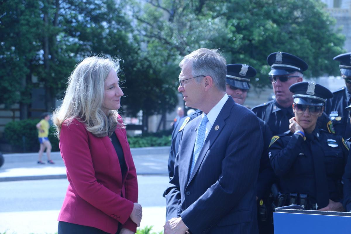 Reps. Abigail Spanberger and Brian Babin