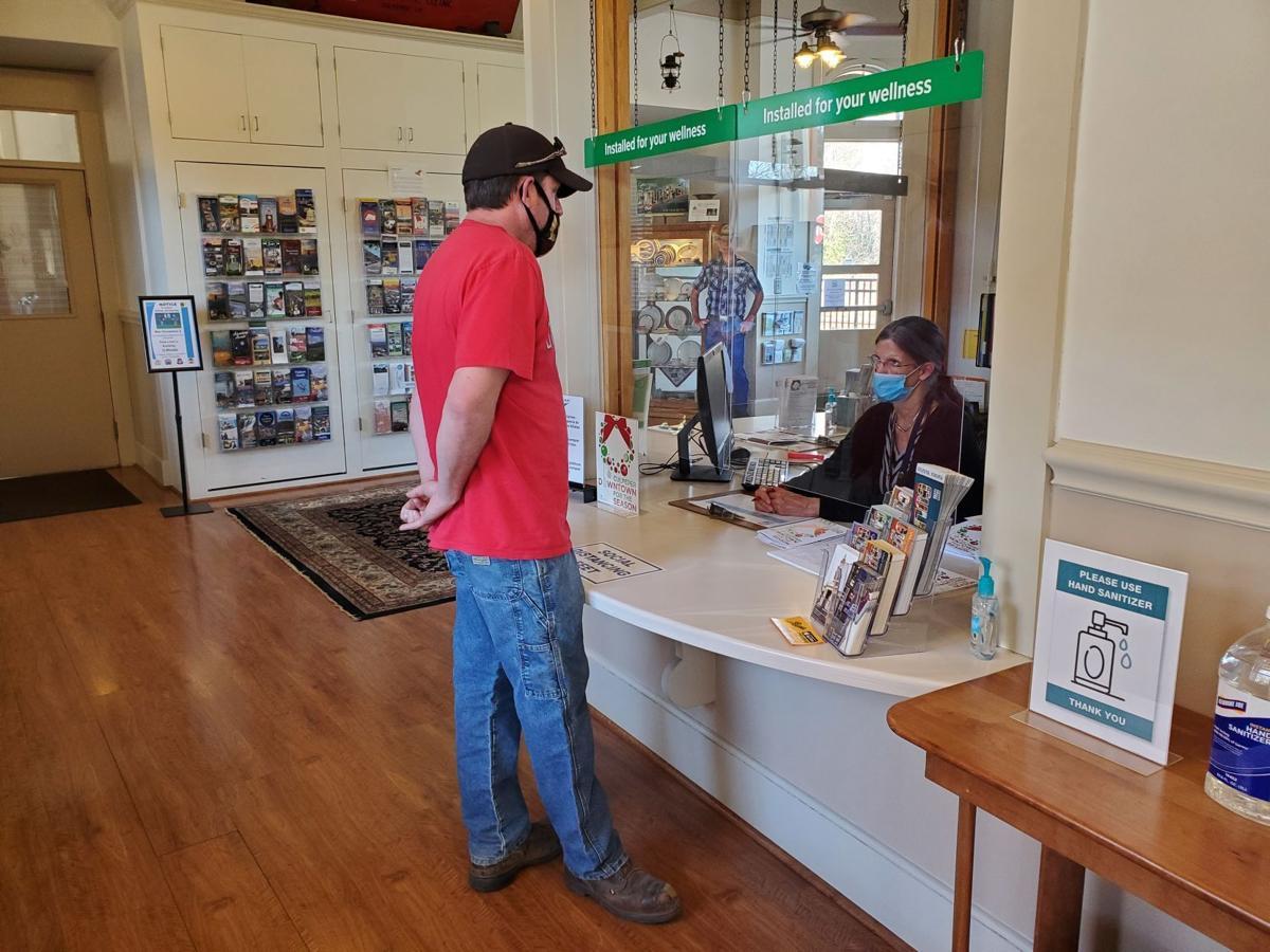 Culpeper Visitor Center opens again