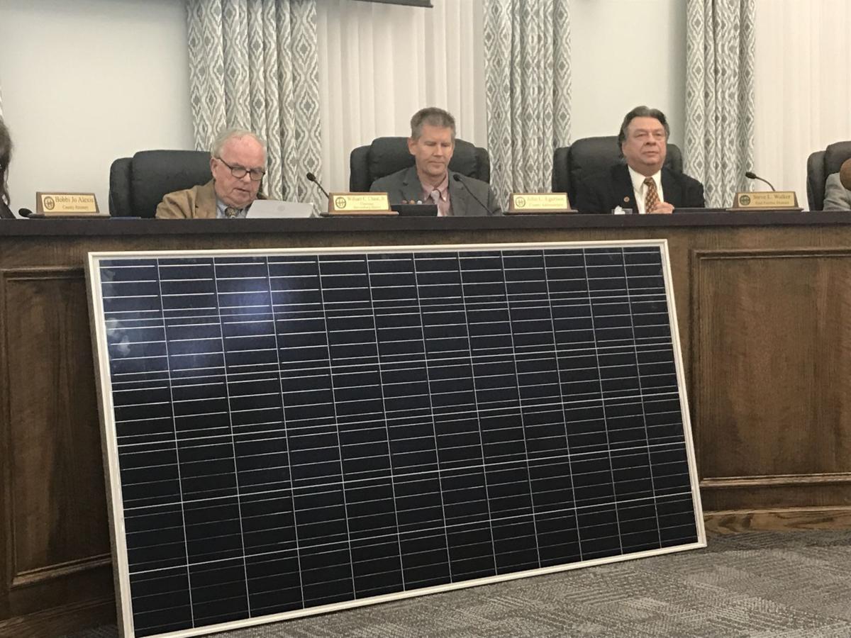 Culpeper supervisors solar power plant
