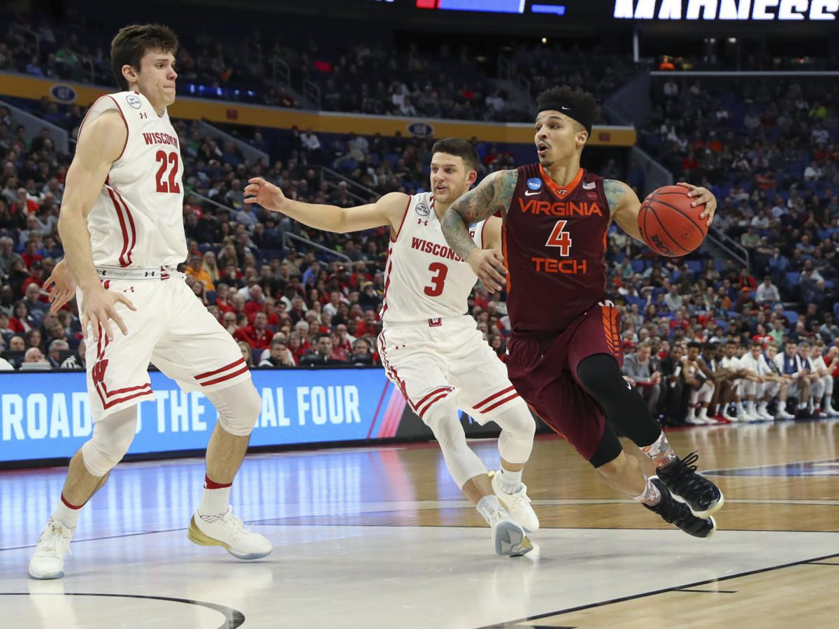 NCAA Wisconsin Virginia Tech Basketball (copy)
