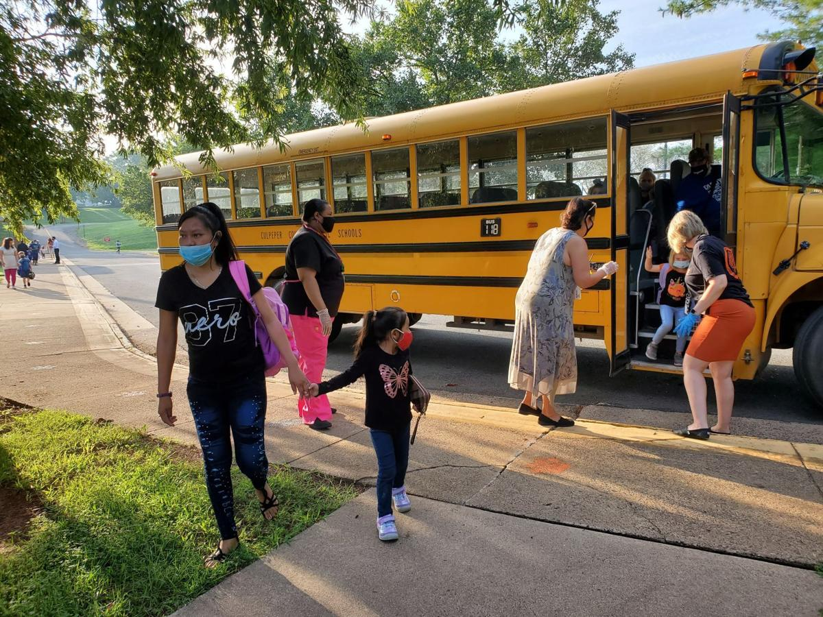 First day of school at Pearl Sample Elementary School (copy)