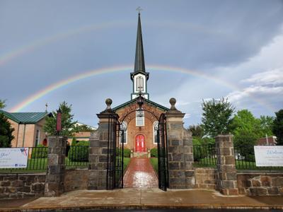 St. Stephen's Episcopal Culpeper rainbow