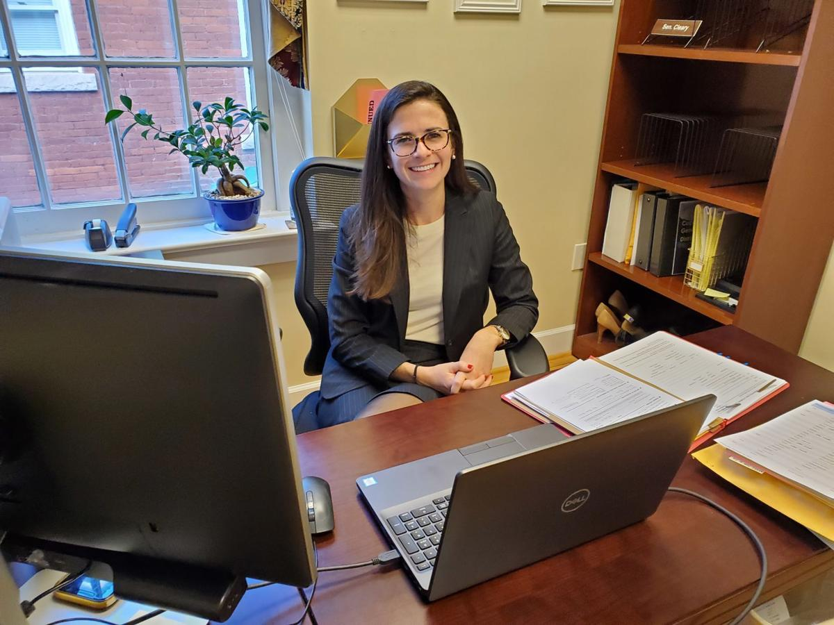 Maggie Cleary in office