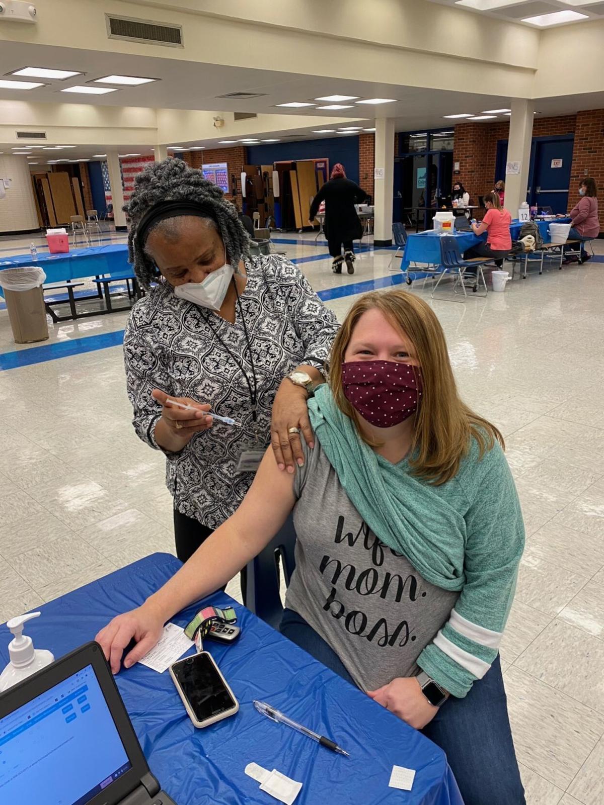 Culpeper Middle School vaccine clinics 1