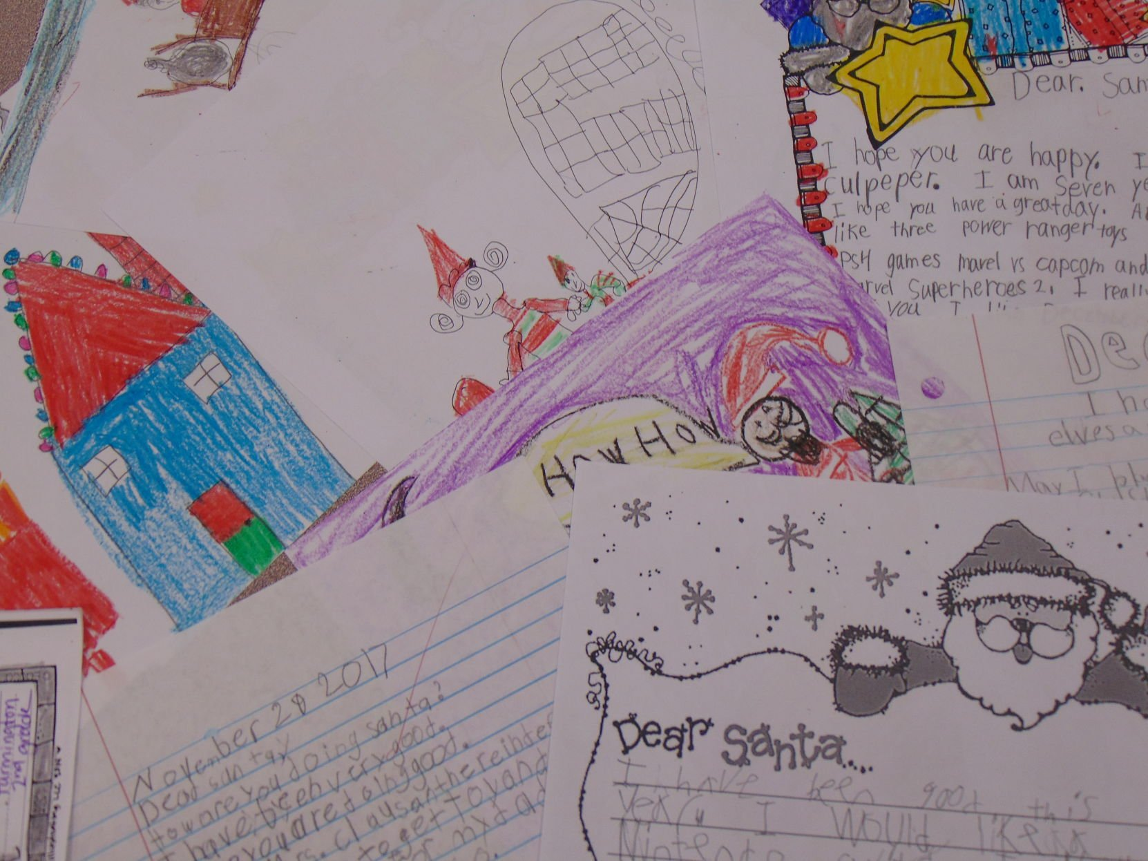 Dear santa: second graders send their christmas wishes to the north ...