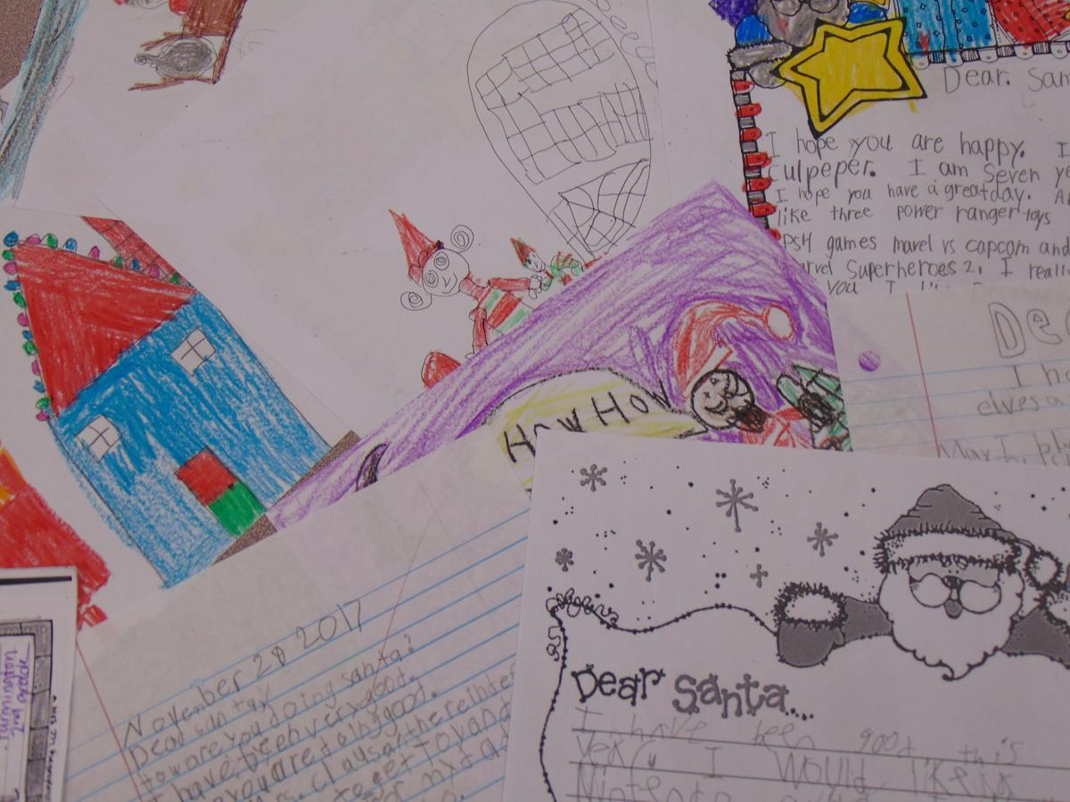 054db78df Dear Santa  Second graders send their Christmas wishes to the North ...