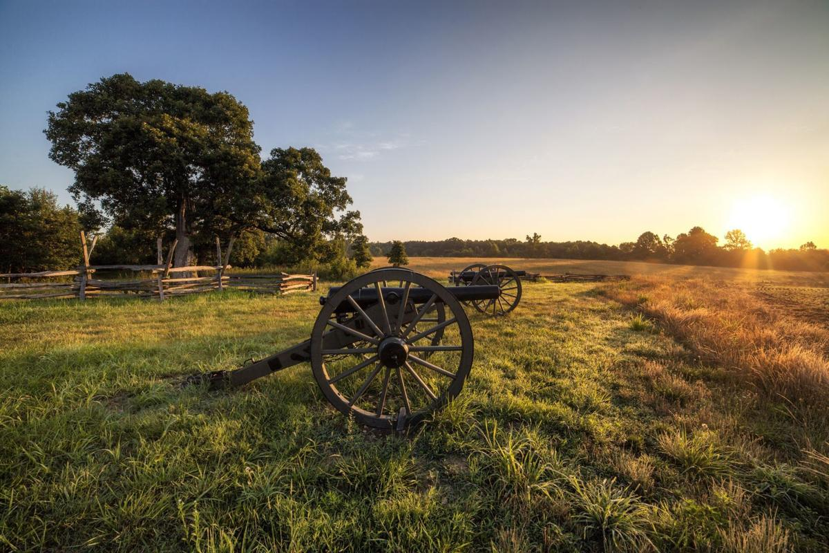 Sunrise at Cedar Mountain battlefield