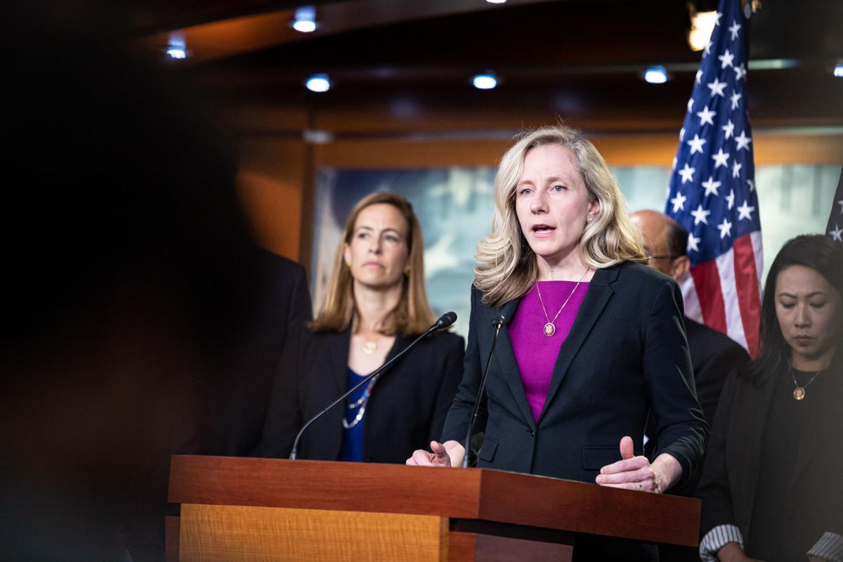 U.S. Rep. Abigail Spanberger addresses election security