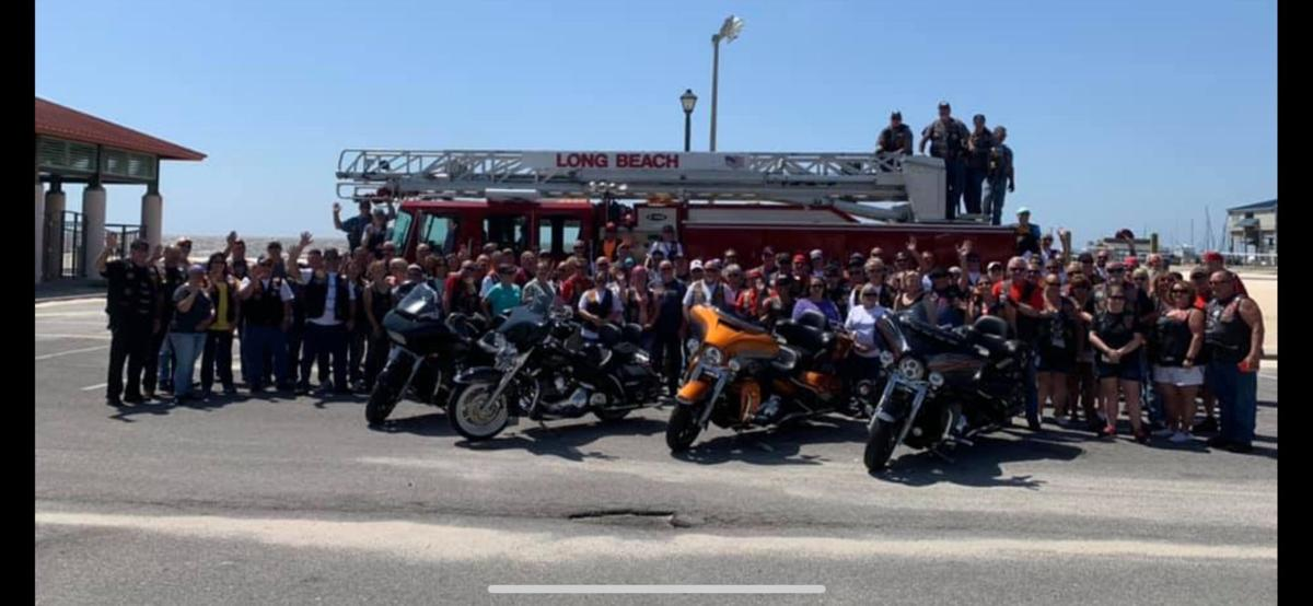 Red Knights Motorcycle Rally advance pic