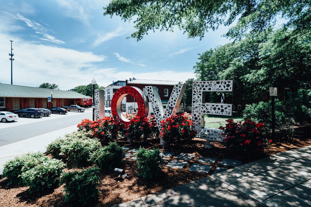 LOVEworks sculpture