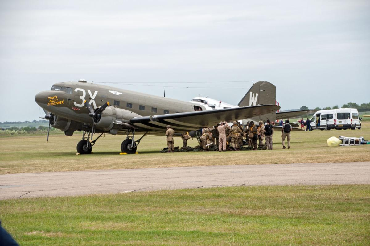 'That's All Brother' in Duxford, England