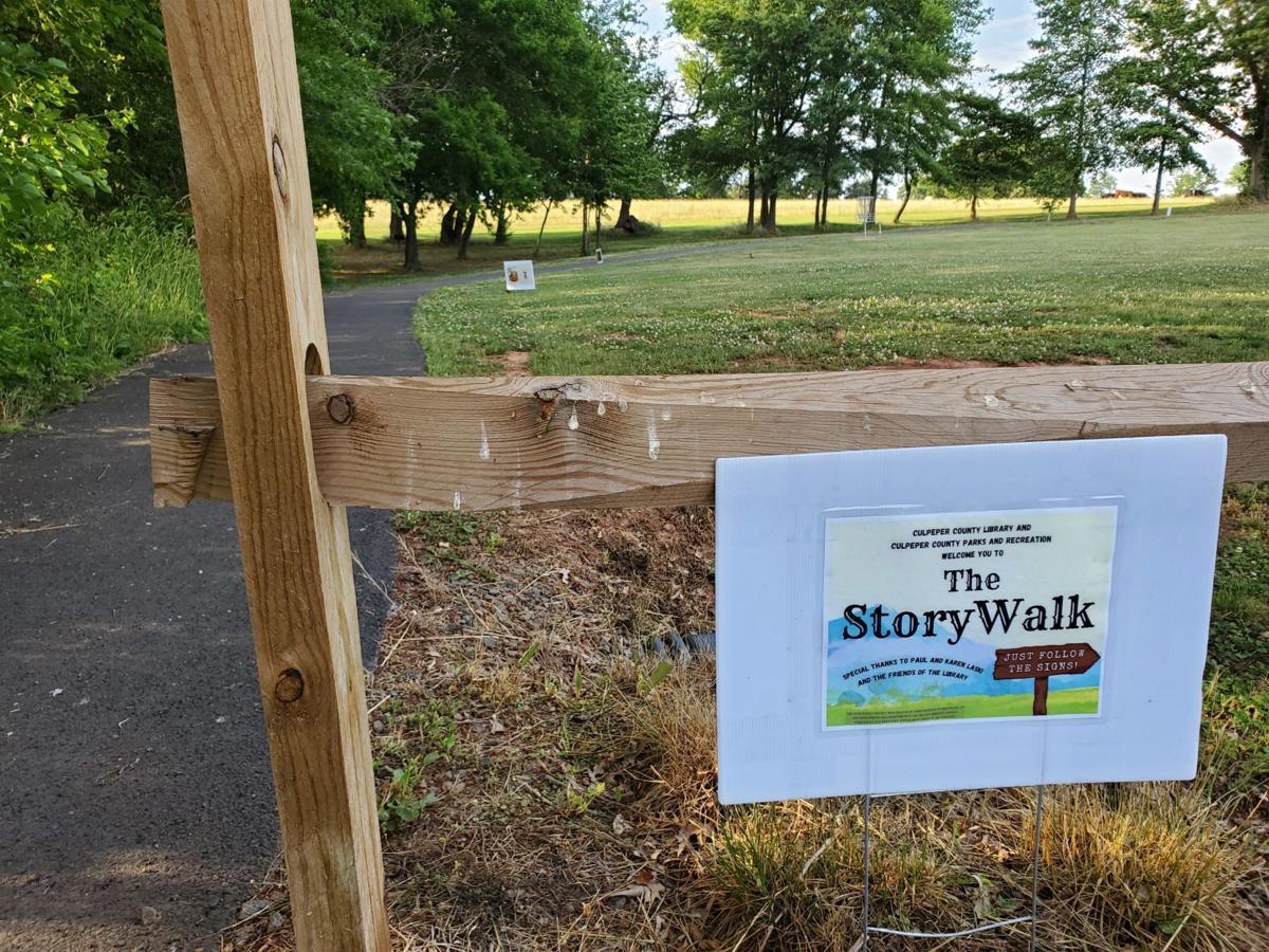 Story Walk Culpeper Library