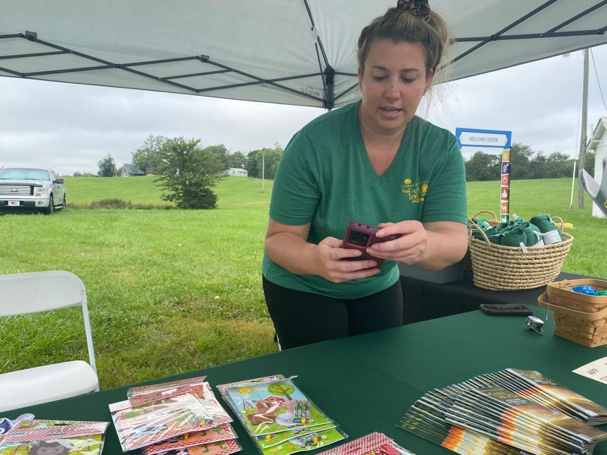 Winona Pritts at Culpeper Agricultural Enterprises