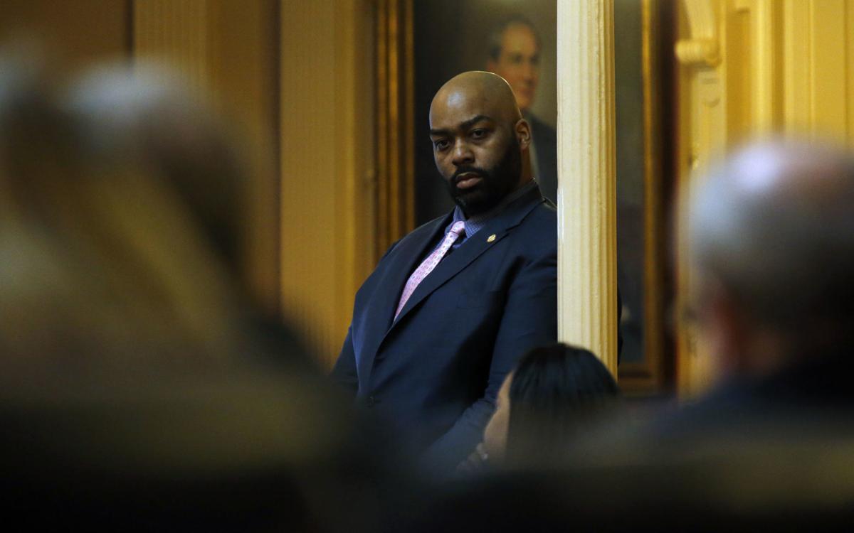 Del. Lamont Bagby chairs Virginia Legislative Black Caucus.