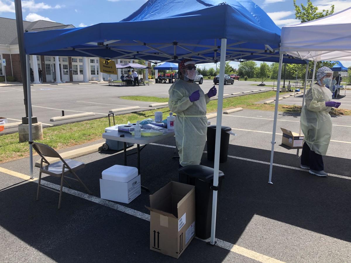 UVA testing site in Culpeper
