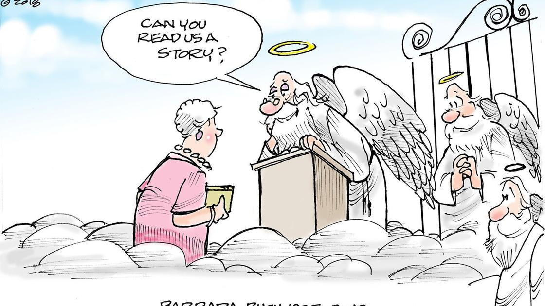 CSE 0419 Cartoon Barbara Bush | Opinion | starexponent com