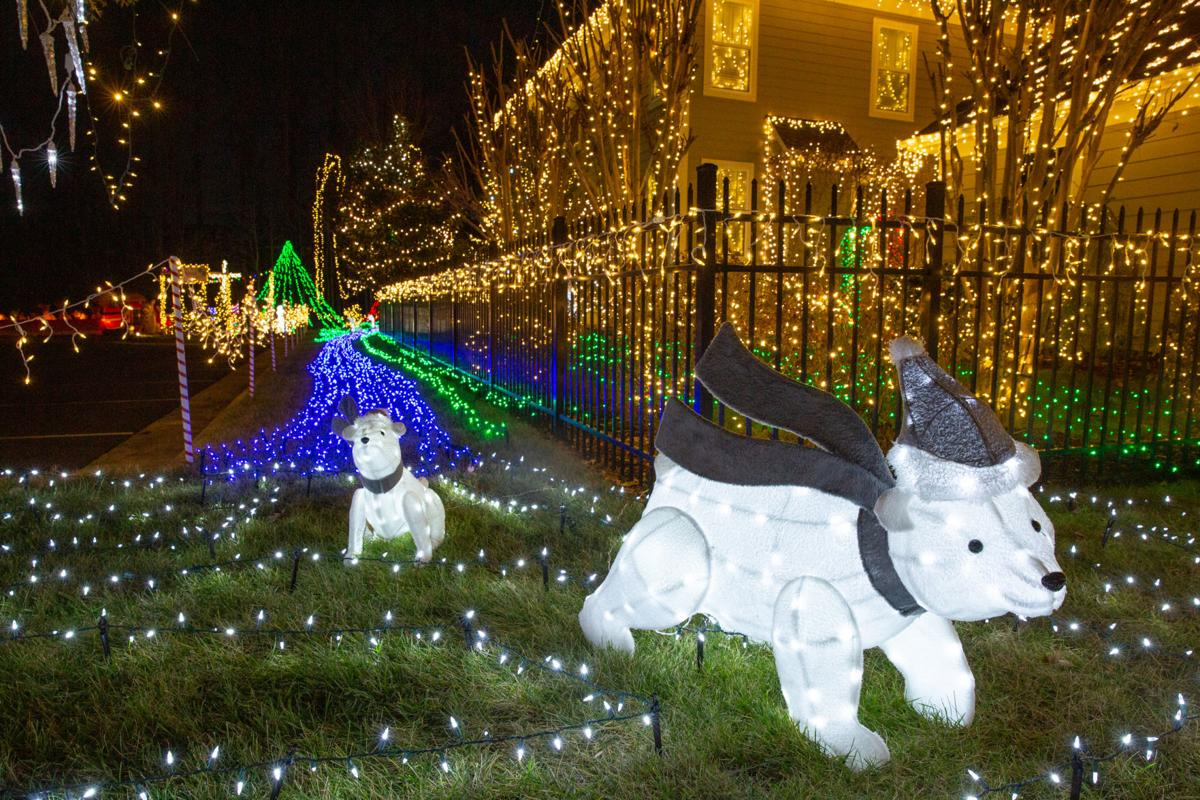 Fredericksburg Family S Bright Light Display In Idlewild Is This Year S Grand Holiday Displays Winner Latest News Starexponent Com