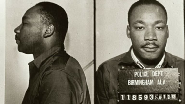 PHOTO: MLK in Birmingham jail (copy)