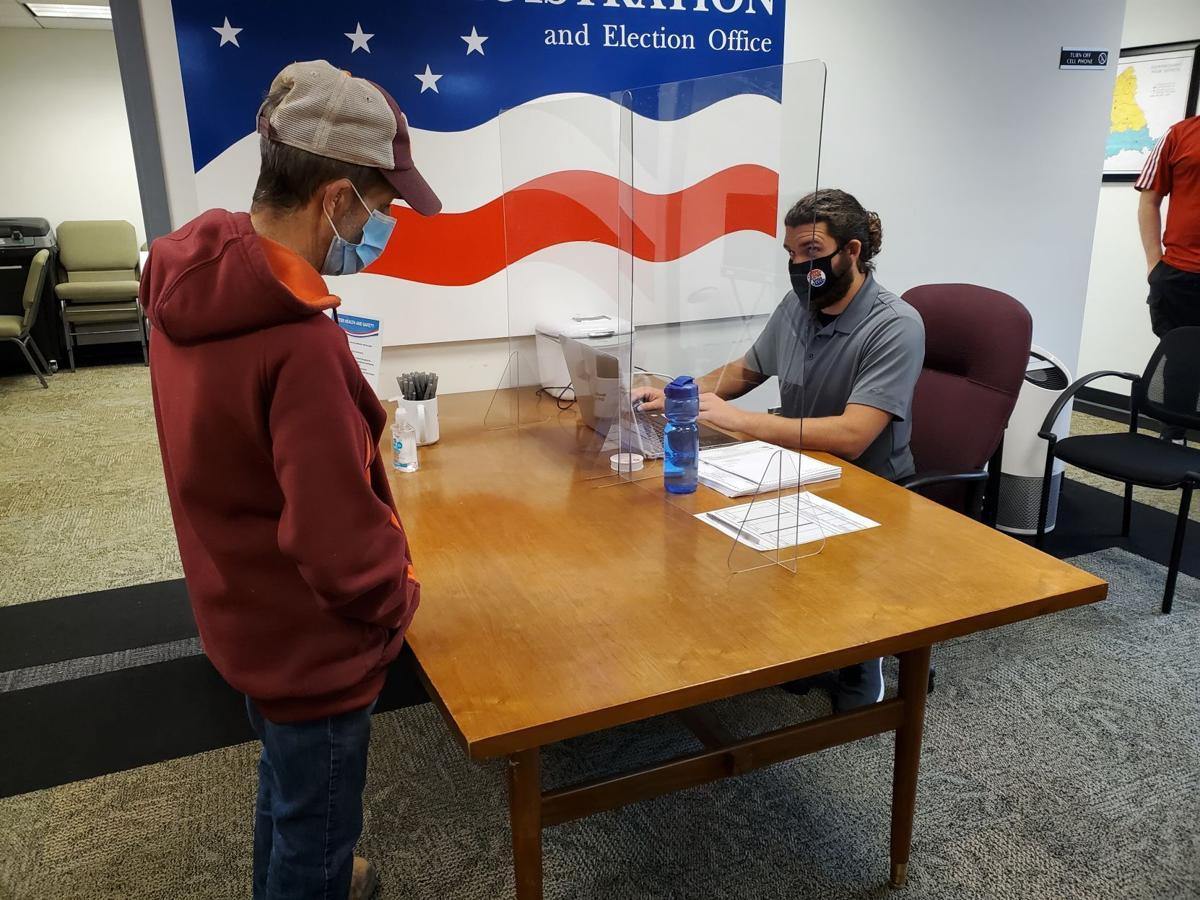 Early voting in Culpeper clerk's race