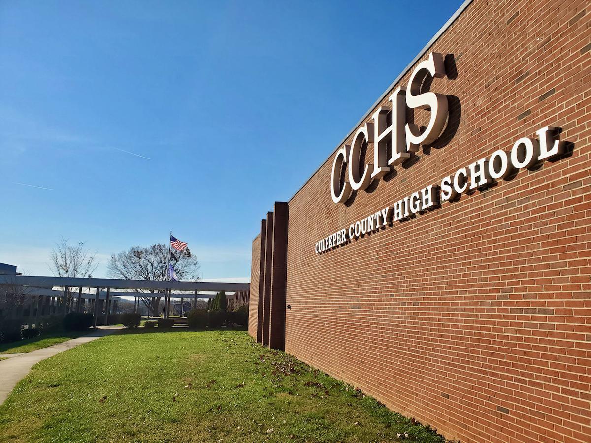 Culpeper County High School front facade