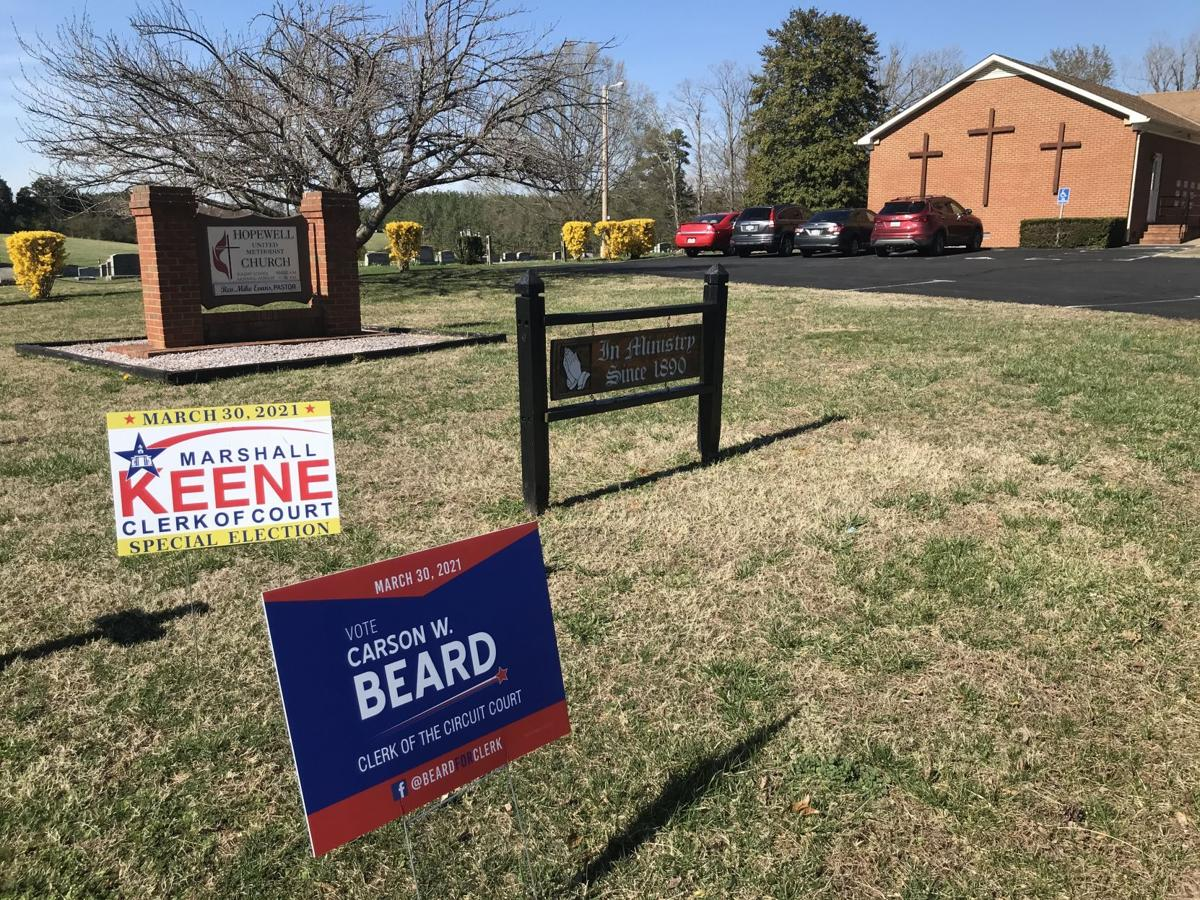 Lignum polling place in Keene-Beard special election (copy)
