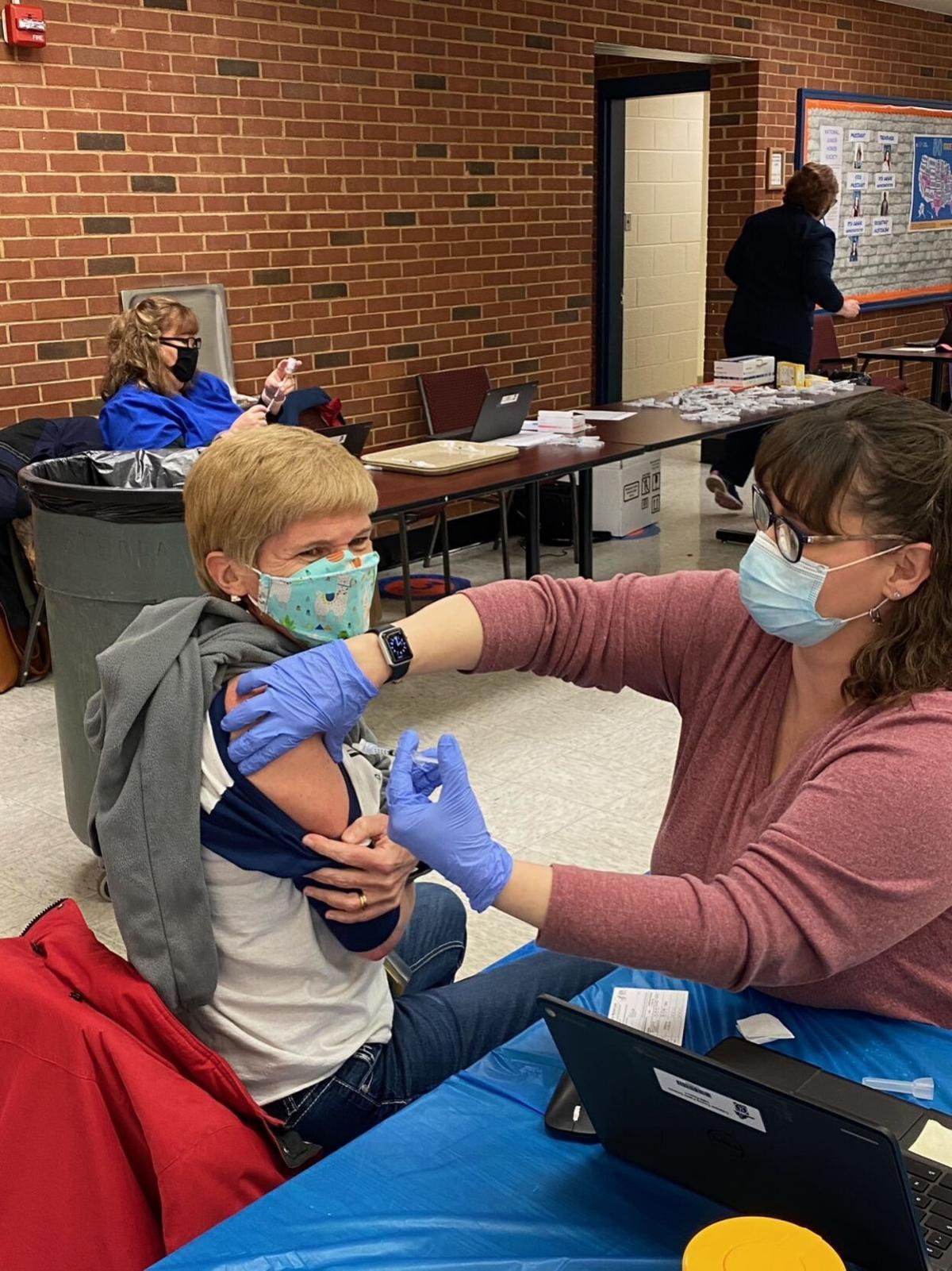 Culpeper Middle School vaccine clinics 2