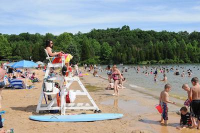 Lake Anna beach swimmers