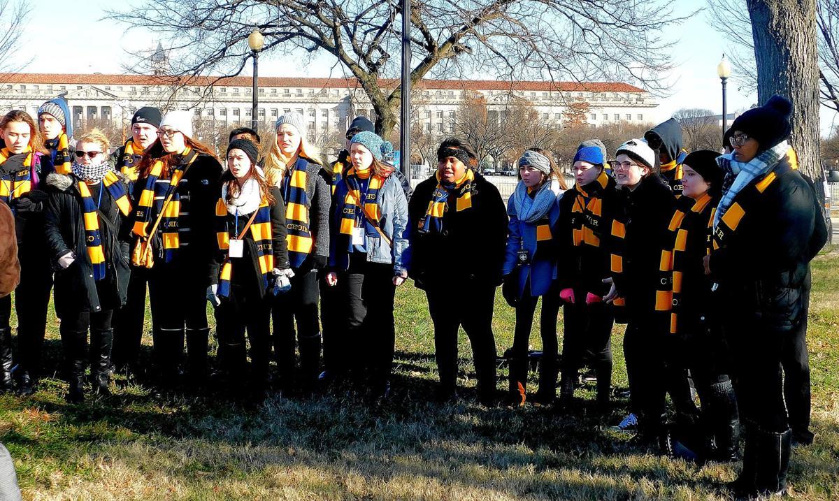 Christmas Treelighting On The Mall Nov 28 2020 O Tannenbaum: Culpeper school choirs sing at state, national