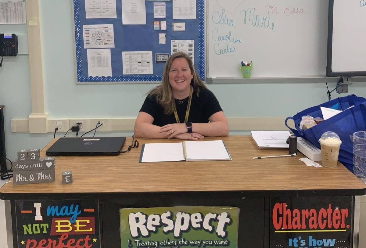 Mindy McCabe, CCHS Teacher of the Year 2021