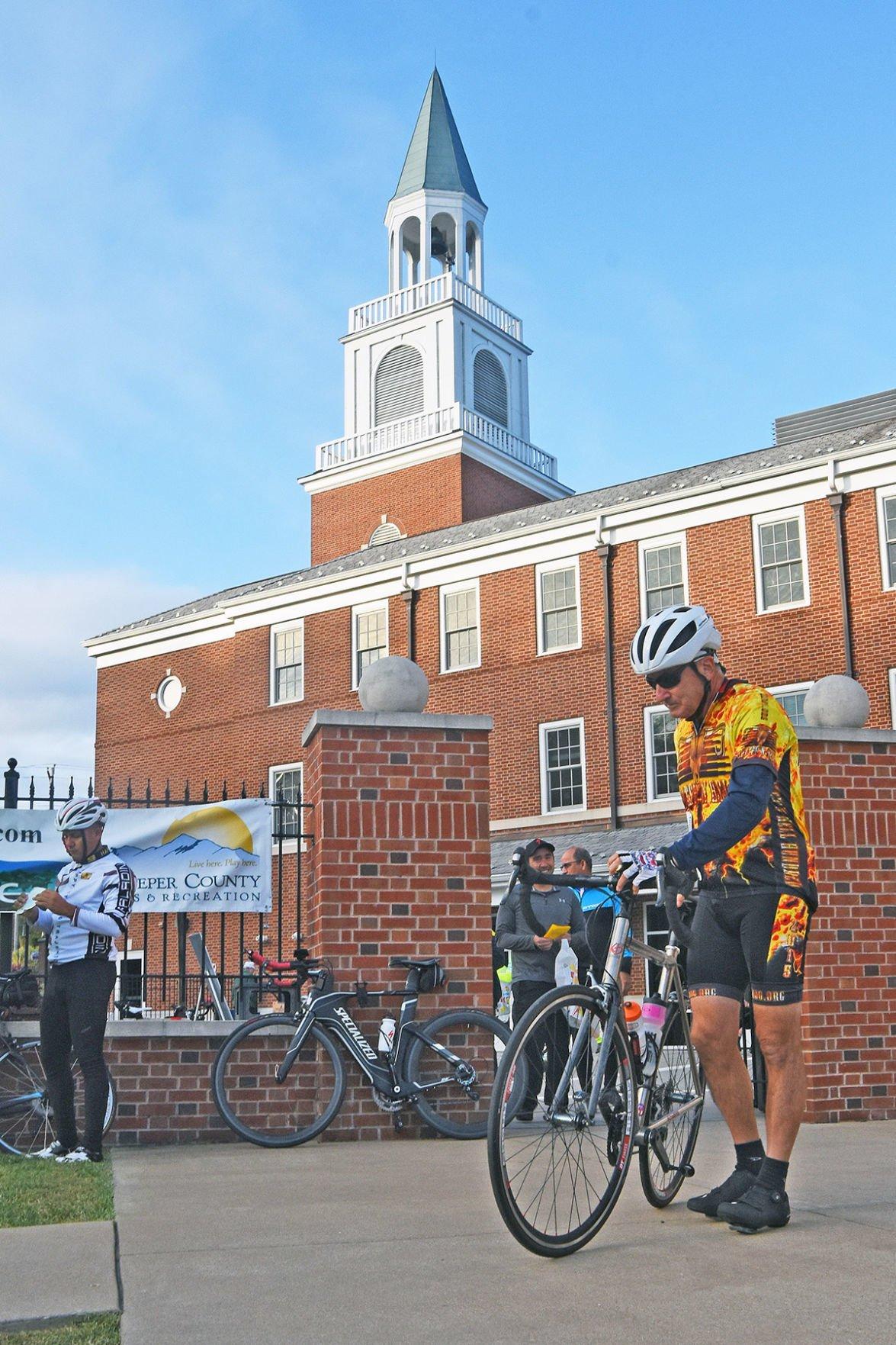 Cycling Century Culpeper Baptist Church