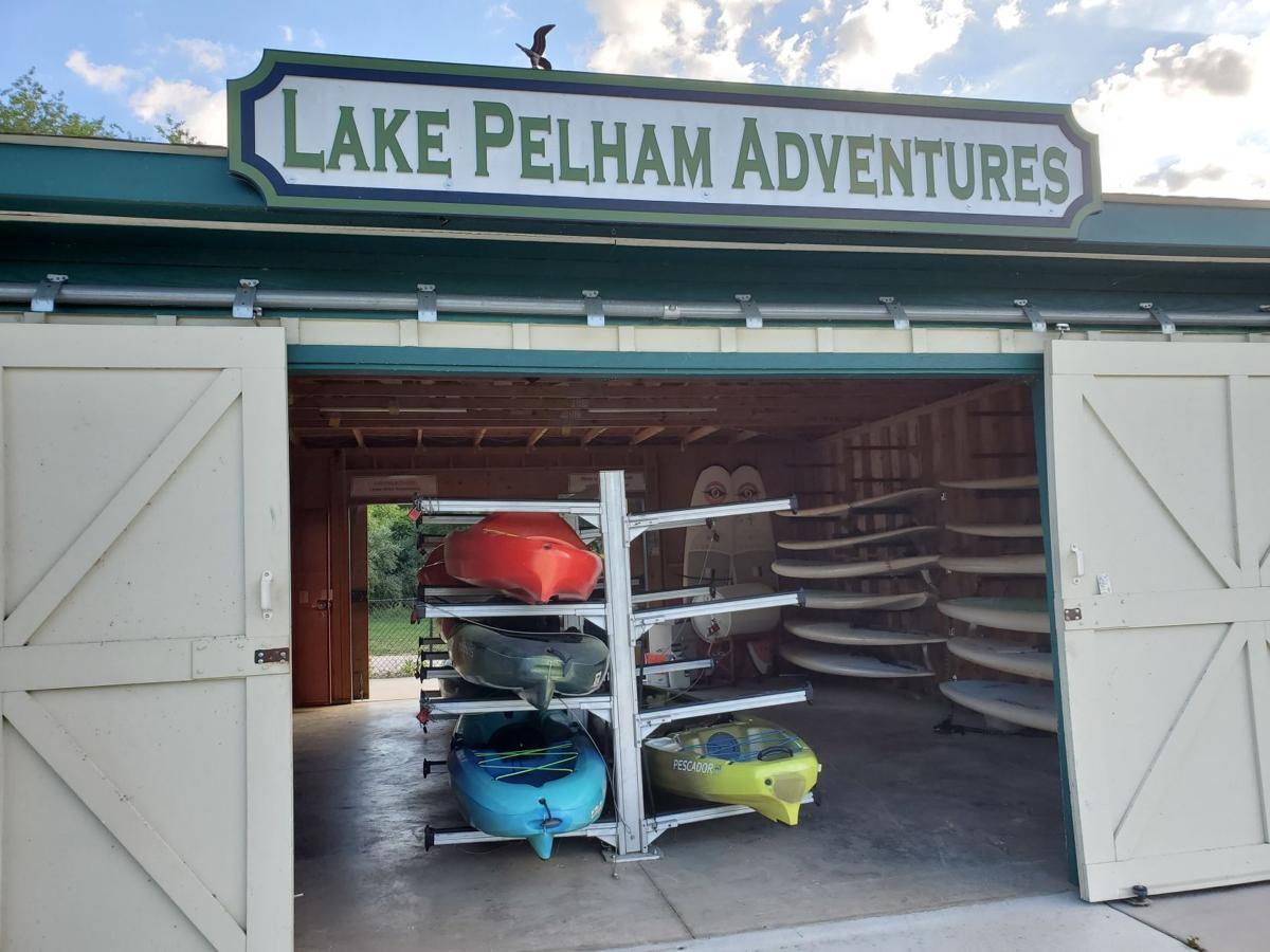 Lake Pelham Adventures building