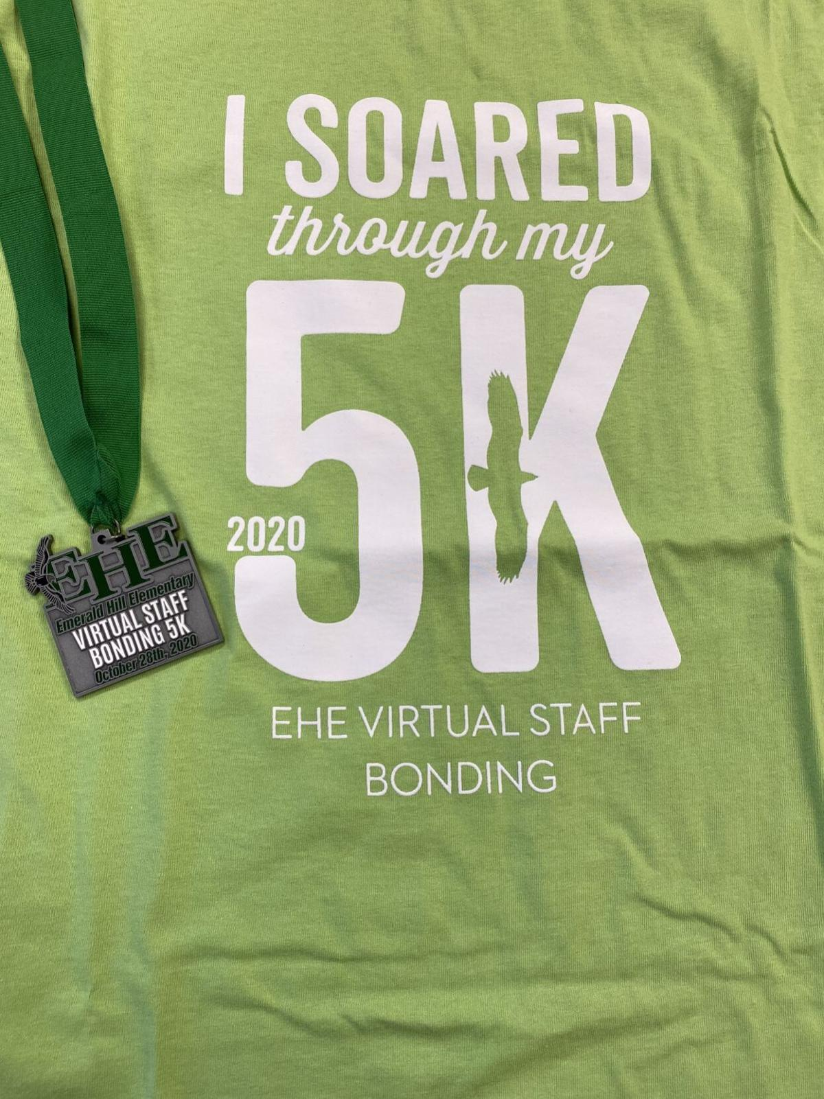 Shirt and medal
