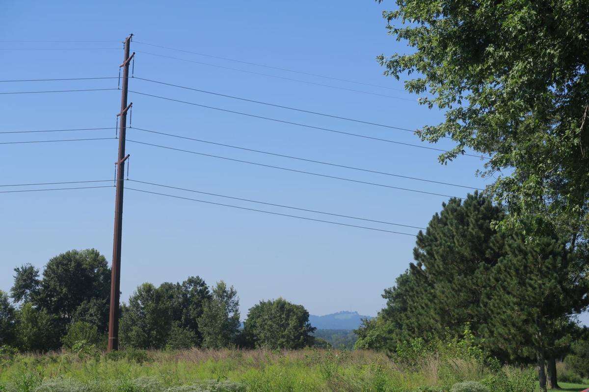 Solar power near Rose Hill