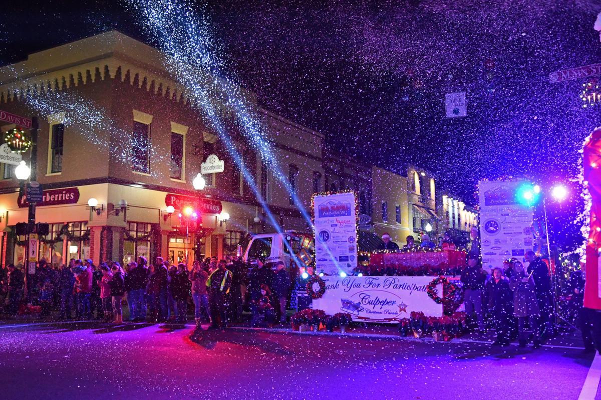 Ian Chini parade lights Culpeper