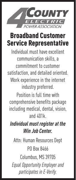 Broadband Customer Service Rep