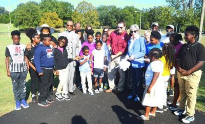 J.L. King walking track re-opens with new surface