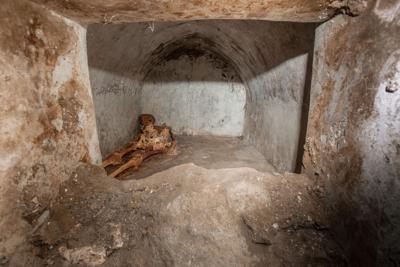 Italy Pompeii Discovery