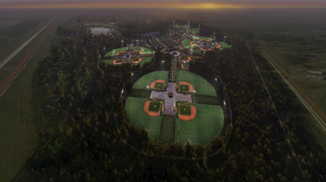 Cornerstone Park aerial view