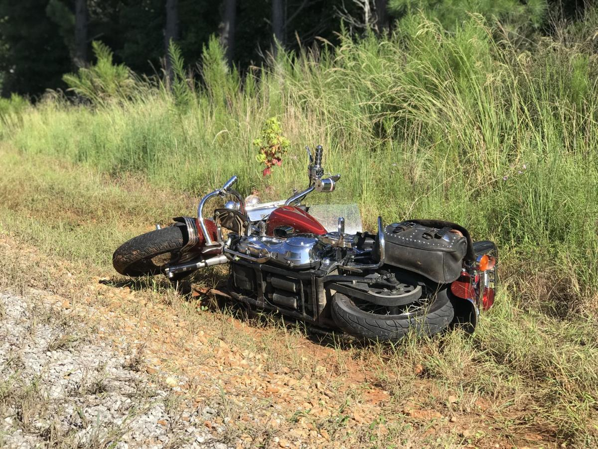Wreck motorcycle