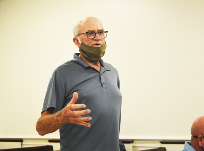 Waldrop discusses plans for landfill