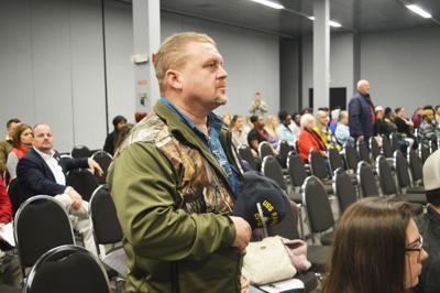 U.S. Navy veteran Darin Beall